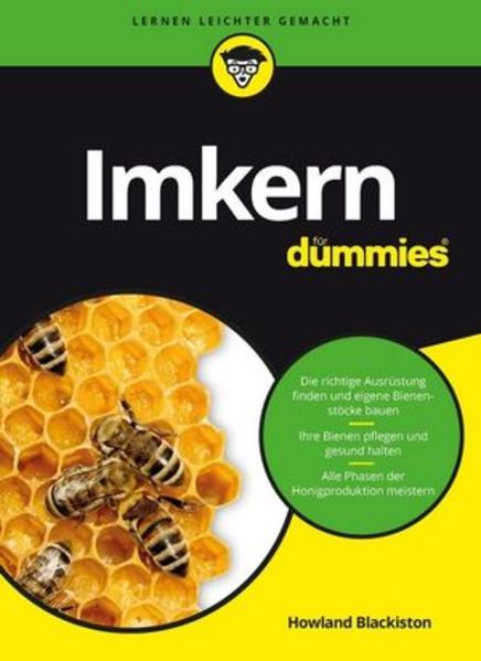"""Honighäuschen (Bonn) - Sie möchten Ihre eigenen Bienen halten und selbst leckeren Honig produzieren? Kein Problem! """"Imkern für Dummies"""" führt Sie Schritt für Schritt durch alle Phasen der Honigproduktion: von der Auswahl der richtigen Ausrüstung bis zur Ernte und Vermarktung Ihres eigenen Honigs. Sie erfahren alles"""