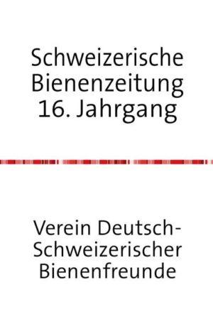 Schweizerische Bienenzeitung 17. Jahrgang | Honighäuschen